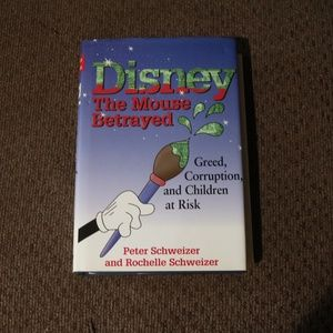 Disney The Mouse Betrayed Book